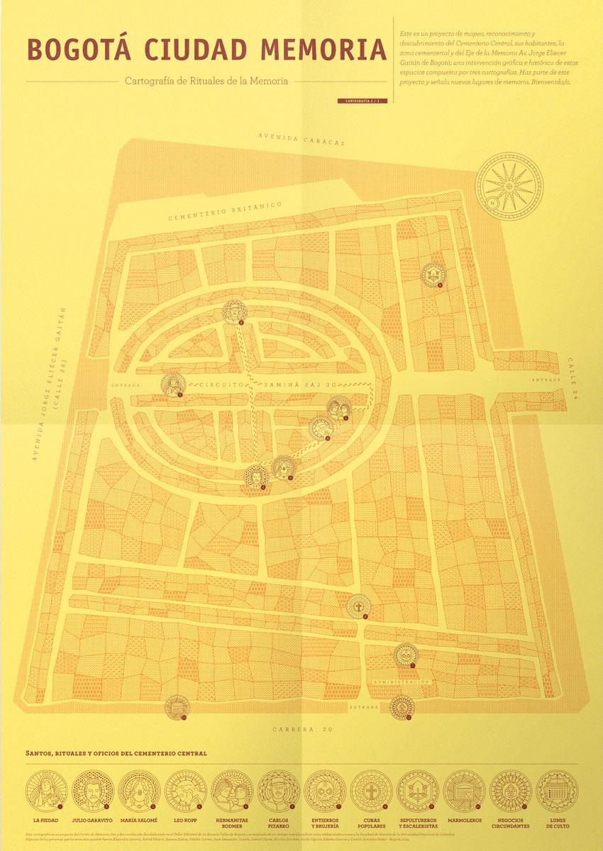 Bogotá Ciudad Memoria, Cartografía 2
